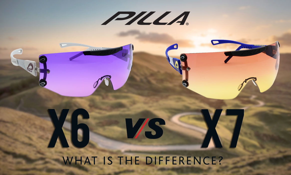 What is the difference between X6 and X7